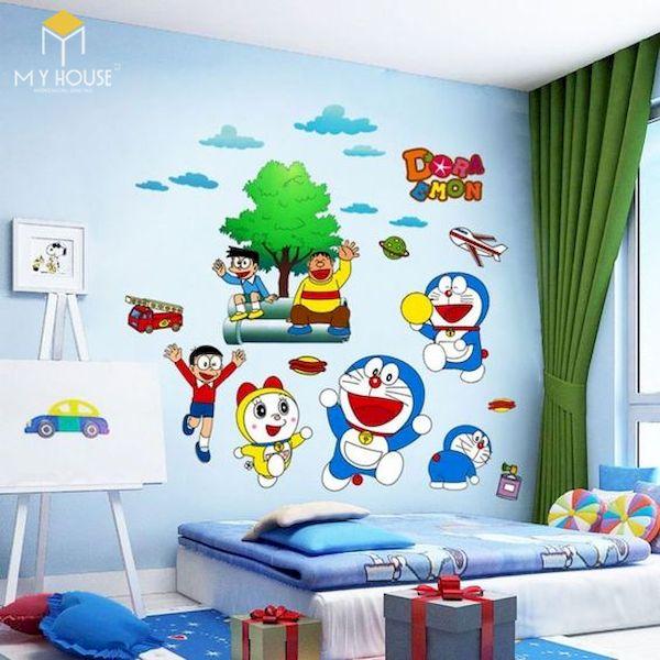 Mẫu trang trí phòng ngủ doremon đẹp - 3