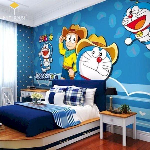 Mẫu trang trí phòng ngủ doremon đẹp - 4