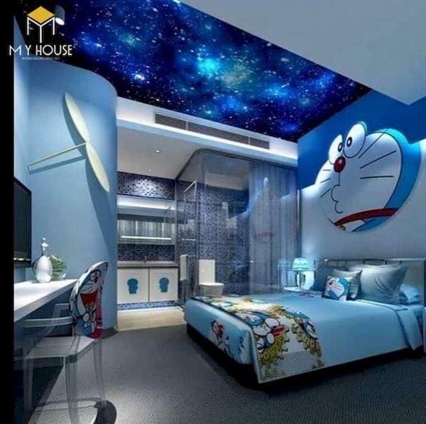 Mẫu trang trí phòng ngủ doremon đẹp - 5