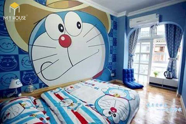 Mẫu trang trí phòng ngủ doremon đẹp - 6