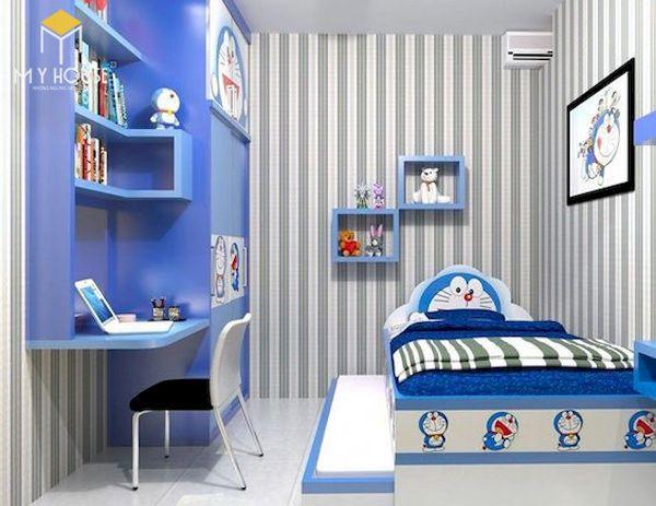 Mẫu trang trí phòng ngủ doremon đẹp - 7