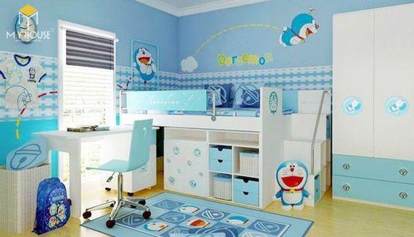 Mẫu trang trí phòng ngủ doremon đẹp - 9