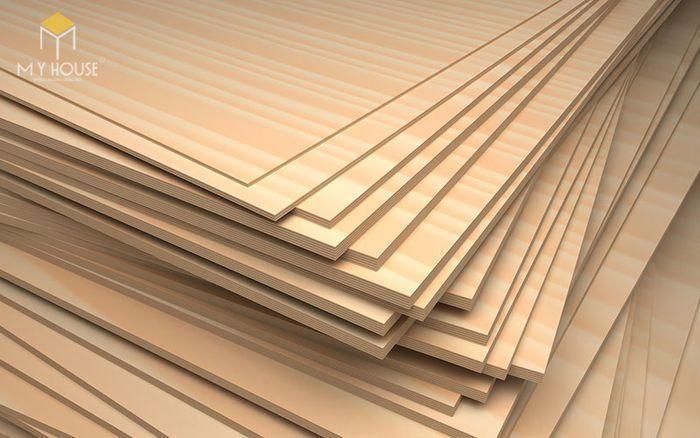 Quy trình sản xuất của gỗ Plywood