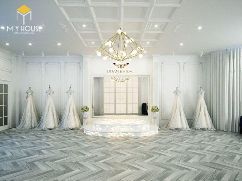 Thiết kế nội thất showroom áo cưới - View 1