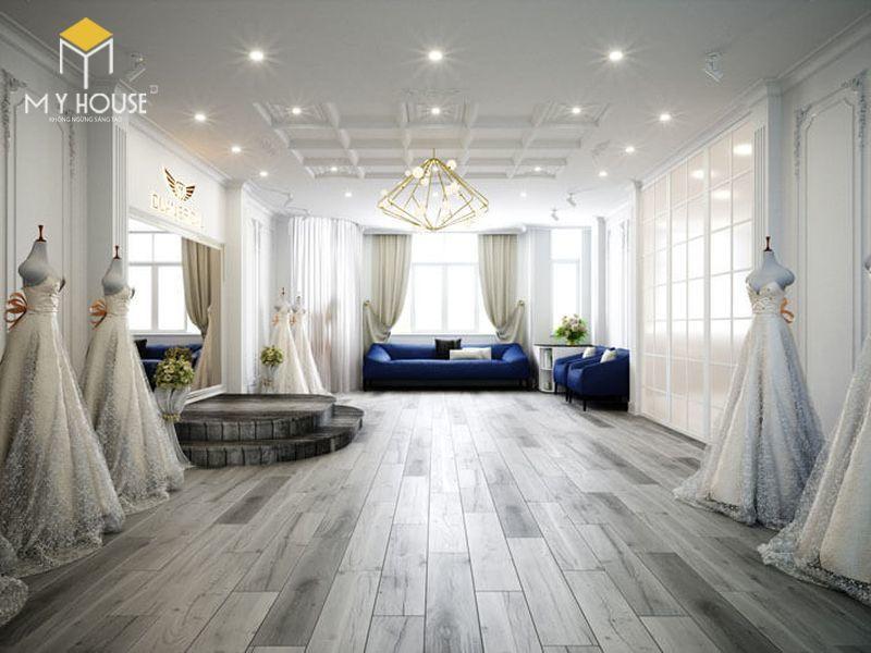 Mẫu thiết kế nội thất Showroom đẹp nhất