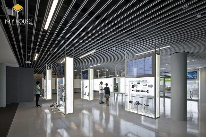 Thiết kế nội thất showroom cửa hàng xe - View 1