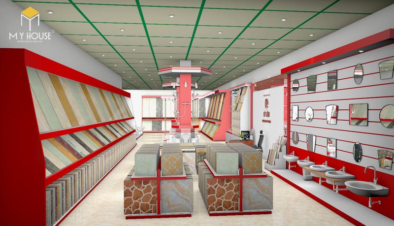 Mẫu thiết kế showroom vật liệu xây dựng đẹp - View 2