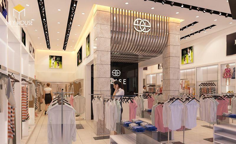 Thiết kế nội thất showroom áo cưới - View 3