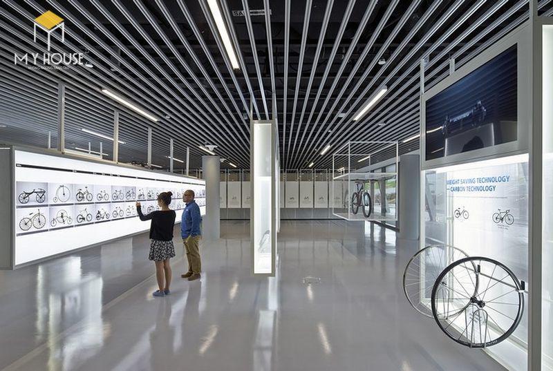 Thiết kế nội thất showroom cửa hàng xe - View 2