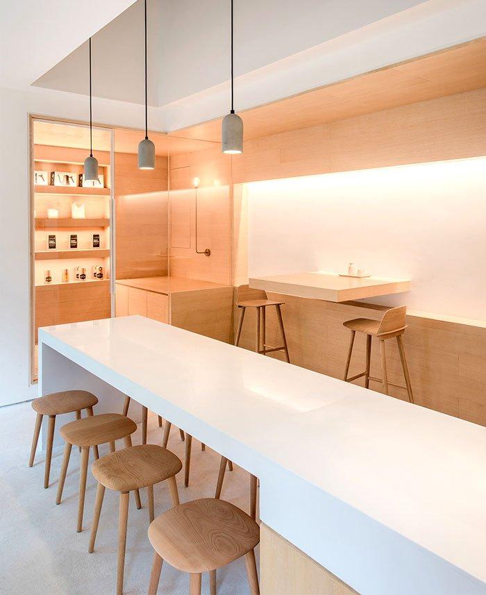 Báo giá thiết kế thi công nội thất quán cafe 4