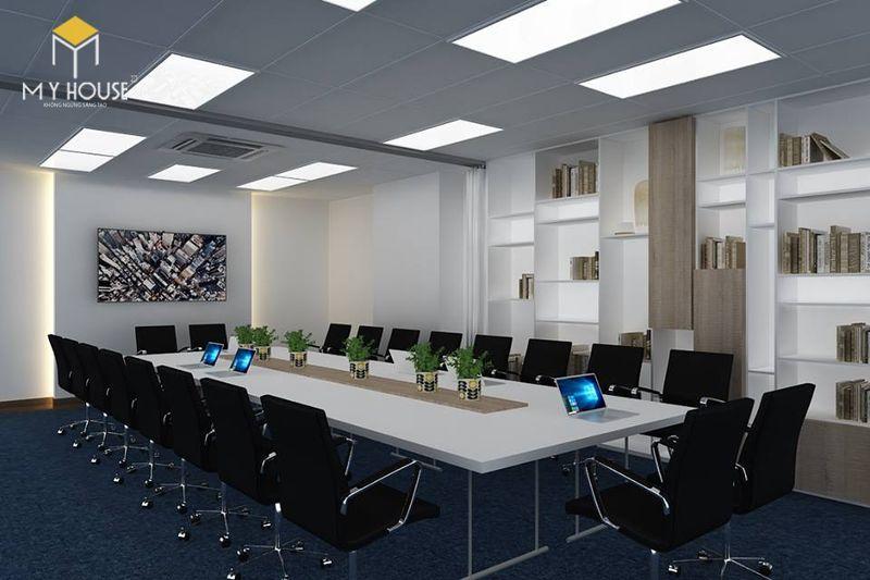 Mẫu thiết kế văn phòng nhỏ 60m2 - View 2