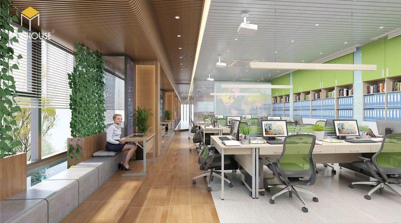 Thiết kế ấn tượng với không gian xanh - View 2