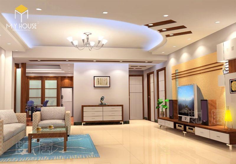 Trần nhà thạch cao hiện nay được sử dụng nhiều trong các công trình lớn và trong xây dựng nhà cửa