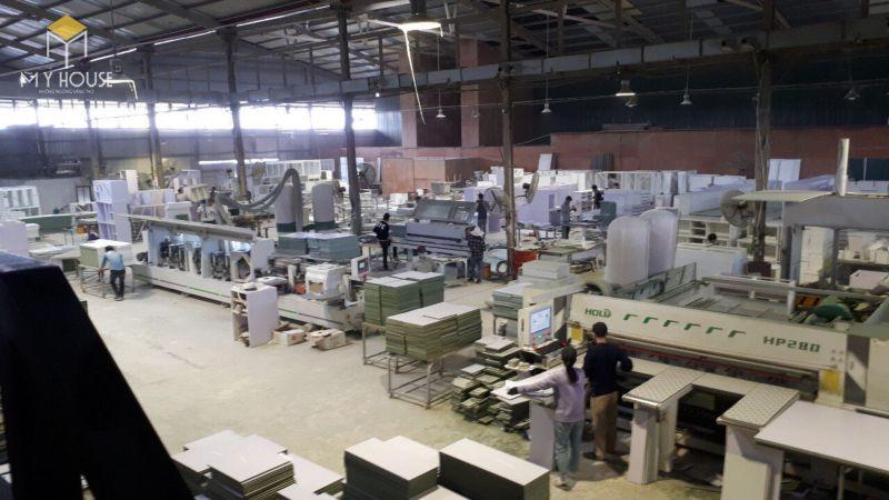 Xưởng sản xuất vách ngăn bằng gỗ - View 4