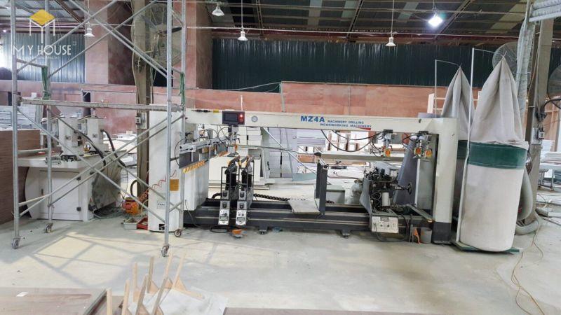 Xưởng sản xuất vách ngăn bằng gỗ - View 3