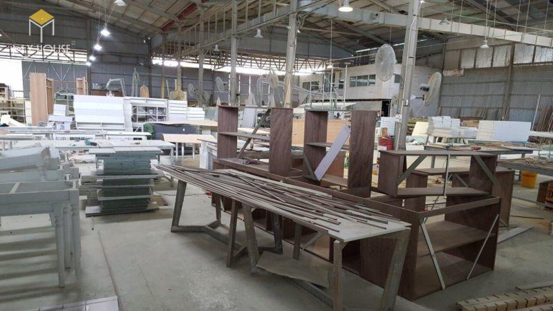 Xưởng sản xuất vách ngăn bằng gỗ - View 1