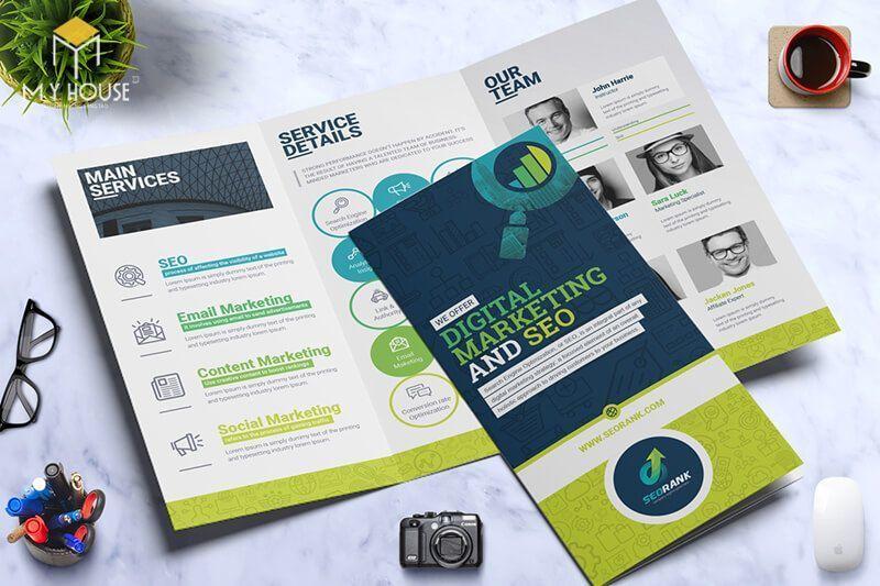 Thiết kế brochure ấn tượng - M5
