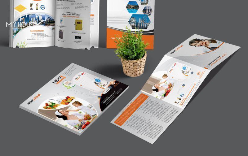 Đặc biệt là kích thước Brochure quyết định giá thành làm ra sản phẩm Brochure