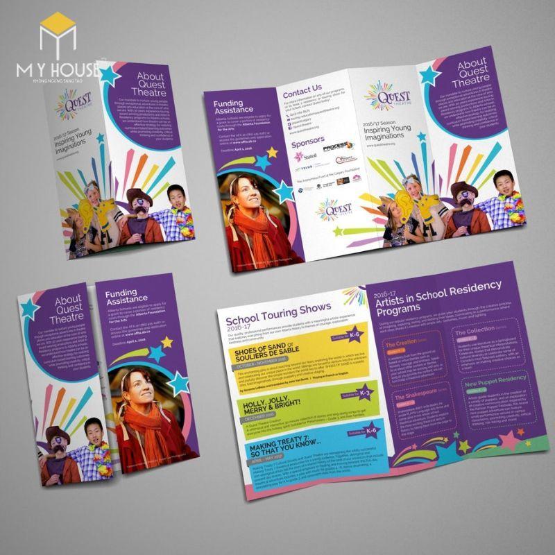 Một Brochure đẹp cũng cách khẳng định mức độ hiện đại của một công ty, doanh nghiệp nào đó.