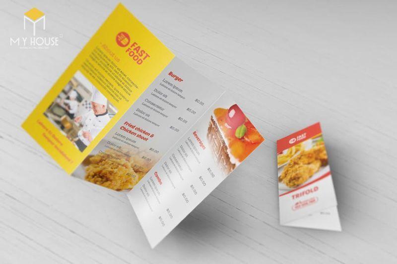 Brochure giống như một sứ giả đại diện cho hãng sản phẩm