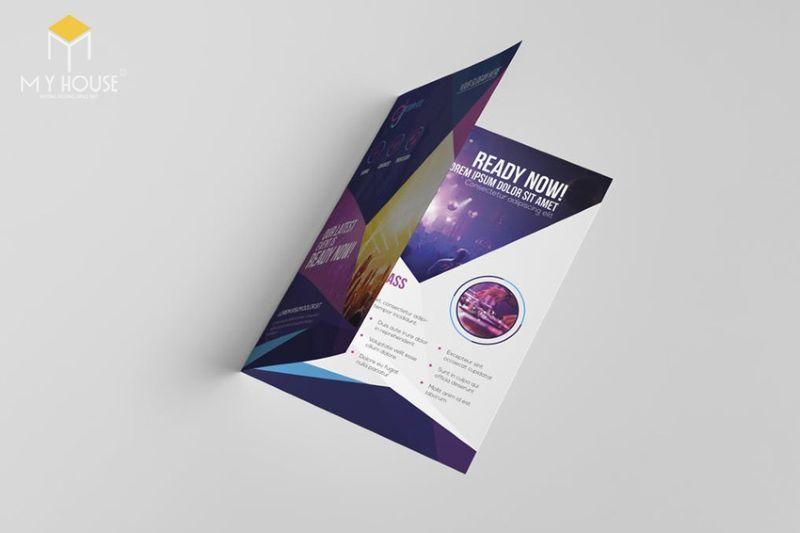 Thiết kế brochure ấn tượng - M2