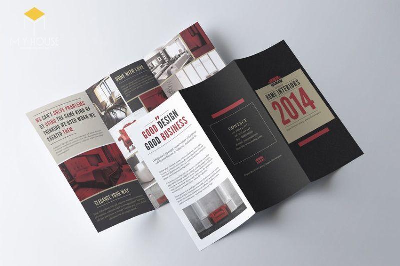 Brochure (tên khác là Pamphlet) là loại ấn phẩm quảng cáo duới dạng tập/cuốn sách mỏng, theo Tiếng Việt có thể gọi là tờ gấp quảng cáo