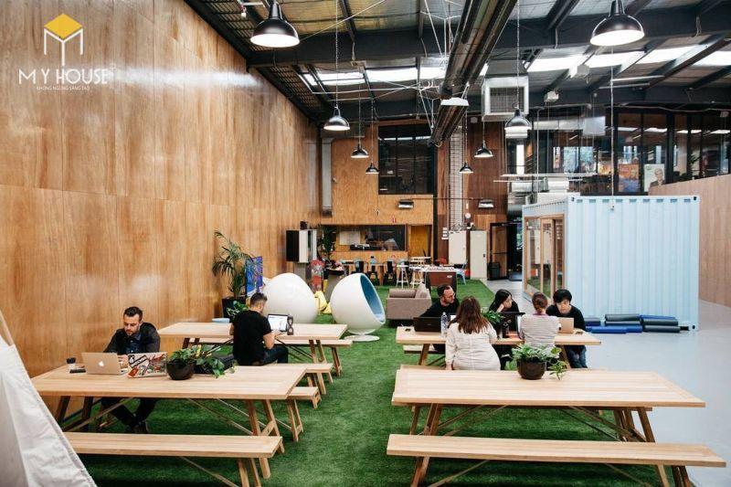 Các dịch vụ cơ bản tại Coworking spaces
