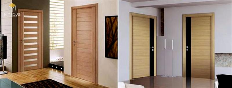 Mẫu cửa gỗ khách sạn hiện đại