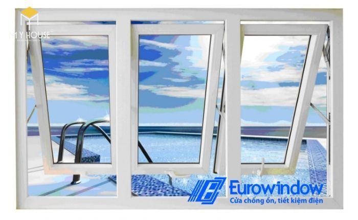 Cách tính giá cửa nhựa lõi thép Eurowindow