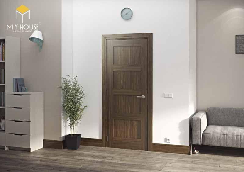 Cần chọn kích thước cửa phòng ngủ đúng phong thủy - Mẫu 2
