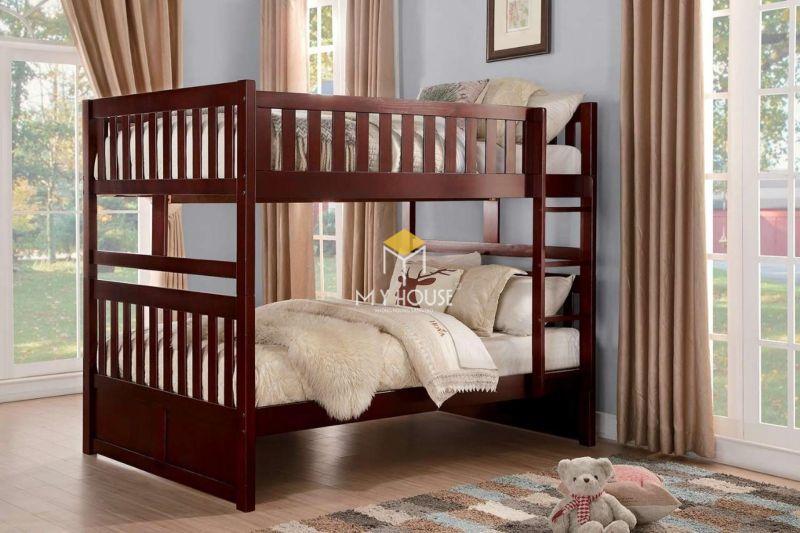 Giường tầng cho bé với thiết kế độc đáo và tiện lợi
