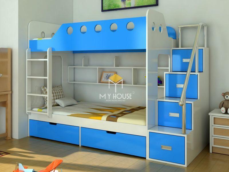 Giường tầng kết hợp nội thất phòng ngủ cho bé