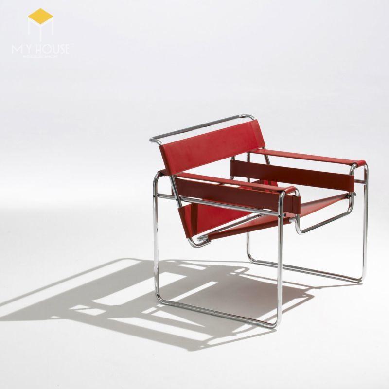 Ghế Wassily Chair nổi tiếng trong phong trào Bauhaus