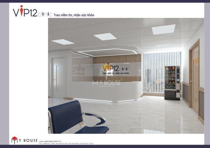 Mẫu thiết kế nội thất công năng bệnh viện Vip12 - V5