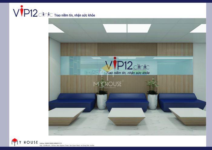 Mẫu thiết kế nội thất công năng bệnh viện Vip12 - V1