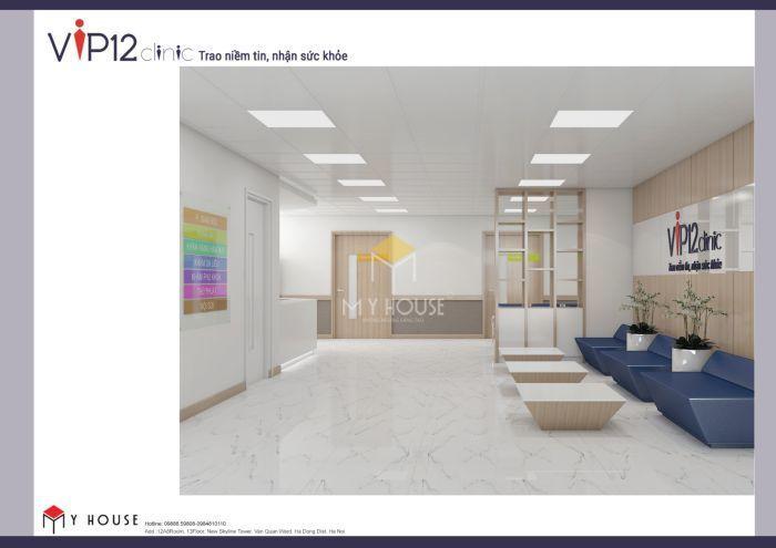Mẫu thiết kế nội thất công năng bệnh viện Vip12 - V3