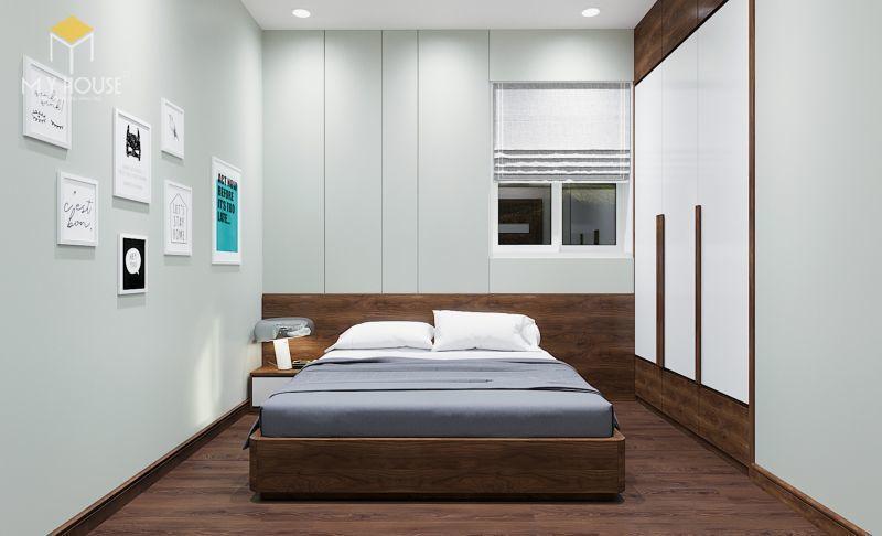 Mẫu thiết kế nội thất căn hộ 120m2 - View 4