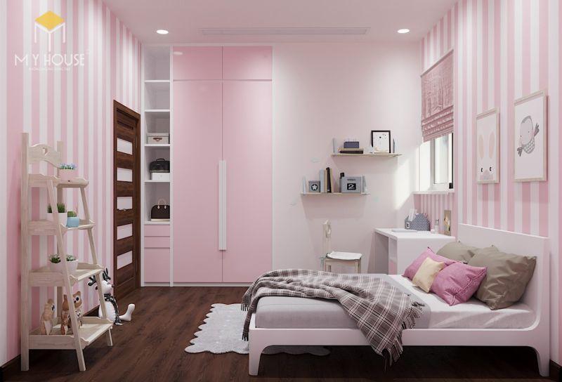 Mẫu thiết kế nội thất căn hộ 120m2 - View 6