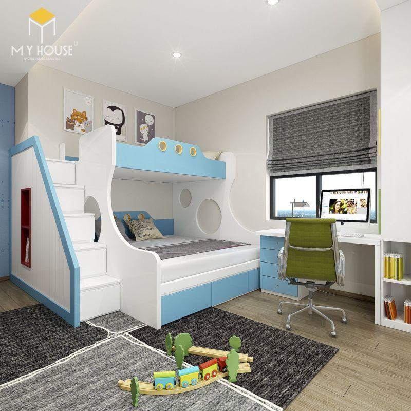 Mẫu thiết kế nội thất căn hộ 140m2 - View 7