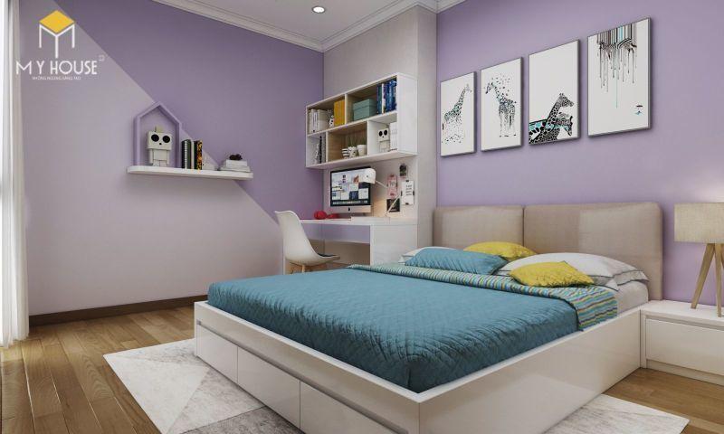 Mẫu thiết kế nội thất căn hộ 140m2 - View 6