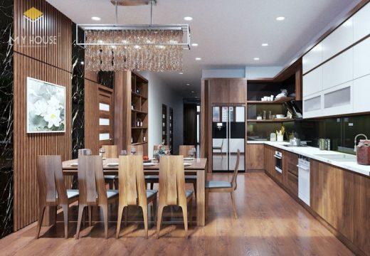 Thiết kế nội thất chung cư Aqua Central 4
