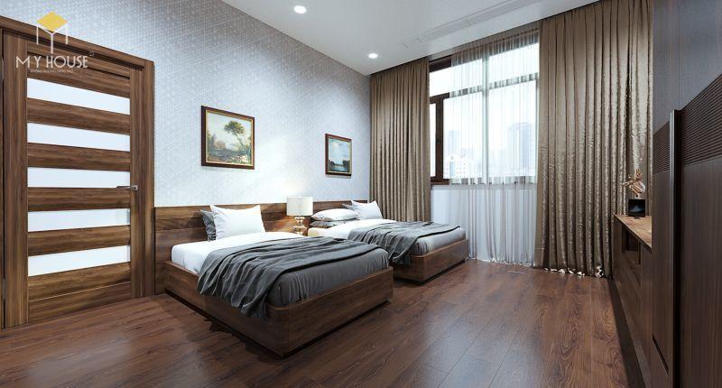 Mẫu thiết kế nội thất căn hộ 120m2 - View 5