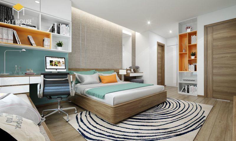 Mẫu thiết kế nội thất căn hộ 140m2 - View 5