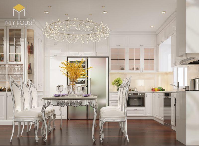 Mẫu thiết kế nội thất căn hộ 146m2 - View 4