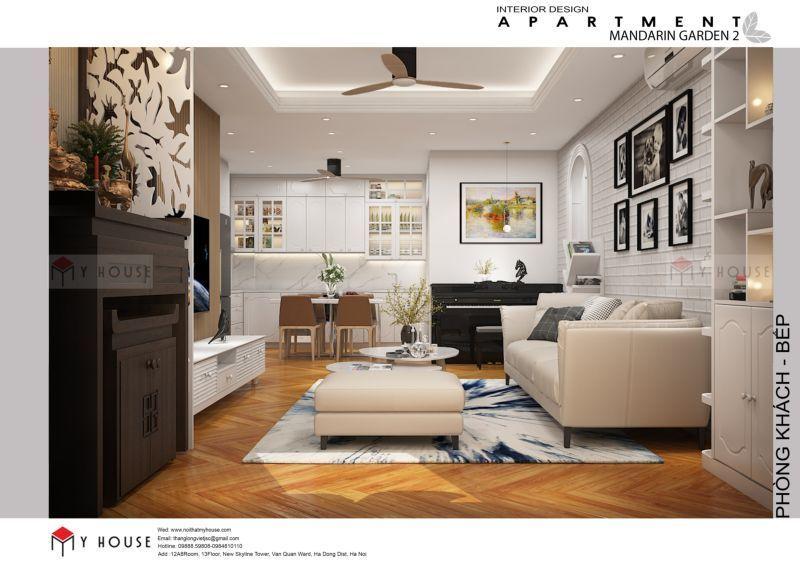 Thiết kế nội thất chung cư Iris Garden 1