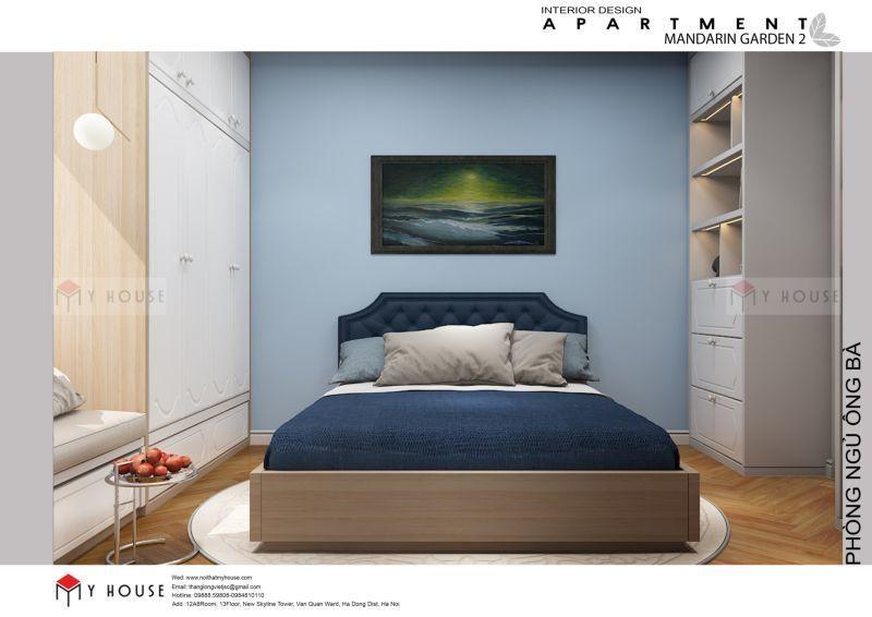 Mẫu thiết kế nội thất căn hộ 102,9m2 - View 4