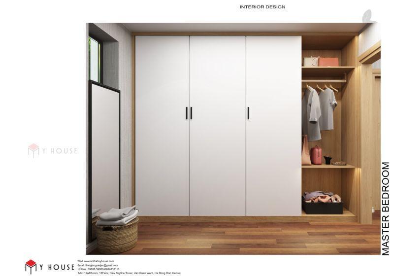 Mẫu thiết kế nội thất căn hộ 60,7m2 - View 7