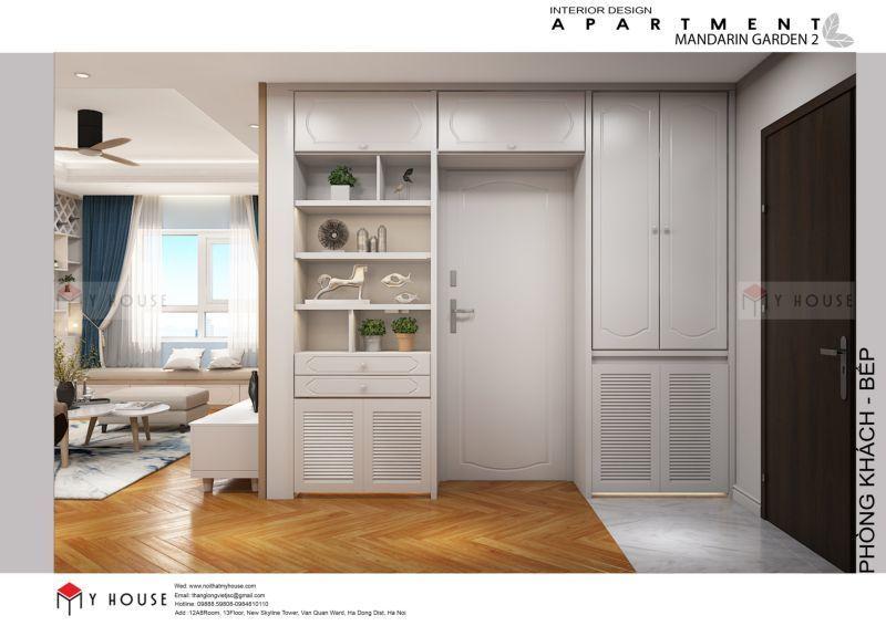 Mẫu thiết kế nội thất căn hộ 102,9m2 - View 5