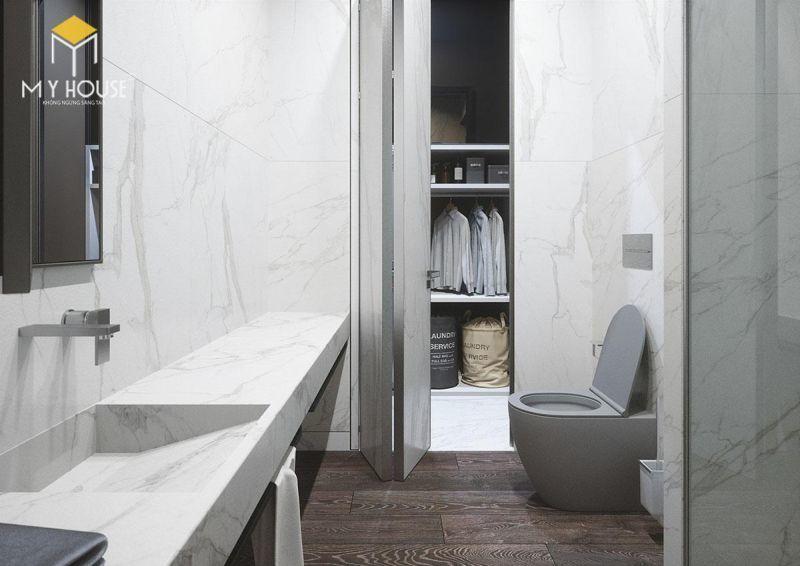 Mẫu thiết kế nội thất căn hộ 150m2 - View 7