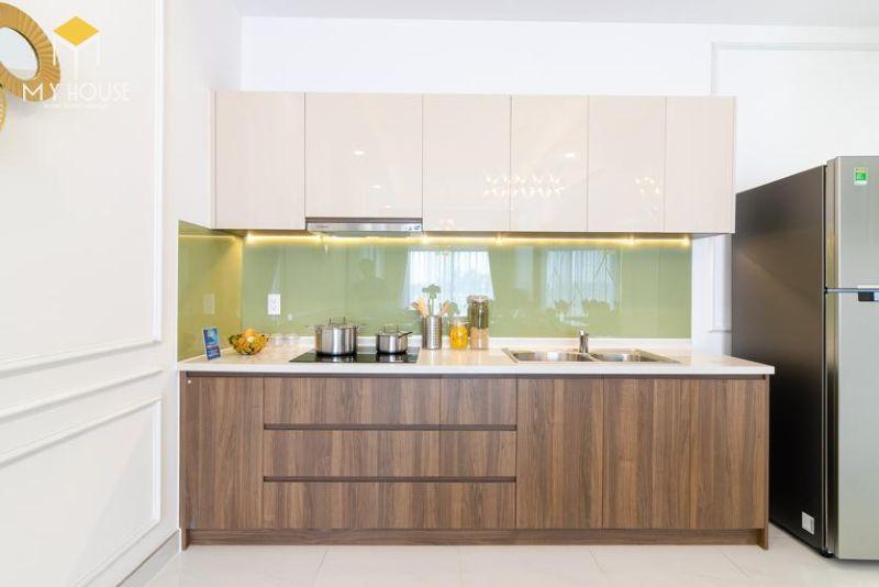 Phòng bếp thiết kế đơn giản nhỏ gọn